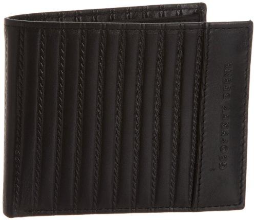 Geoffrey Beene Men's Oliver Passcase Billfold, Black, One Size