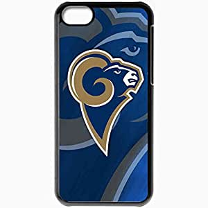 Personalized iPhone 5C Cell phone Case/Cover Skin 1424 st louis rams Black