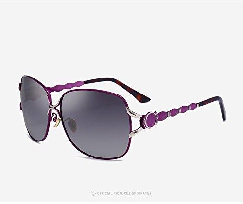 Lunettes Color Lunettes Baianf Soleil en Purple Soleil pour UV400 White Grand Mode Voyage de Miroir Polaroid Lunettes Air Lunettes Occasionnel Soleil Femmes Soleil Plein de de Vintage Conduite 4wP1qg4