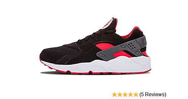 authentic quality buy sale temperament shoes NIKE Air Huarache (BRED) Black/University Red-University Red
