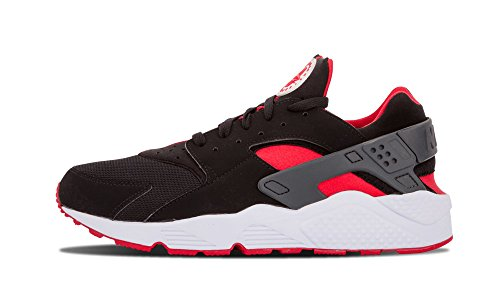 Nike Air Huarache (BRED) Black/University Red-University Red (13) (Nike Flight Qs)