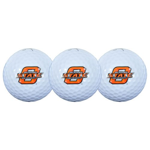 Team Effort Oklahoma State Cowboys Golf Ball 3 Pack by Team Effort