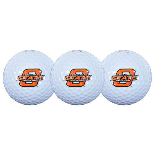 (Team Effort Oklahoma State Cowboys Golf Ball 3 Pack)