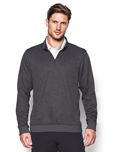 "picture of Under Armour Men's Storm SweaterFleece  Zip, Carbon Heather (""9""), Small"