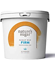 Nature's Sugar Firm Sugaring Paste for Bikini, Brazilian, Underarms and Brows. All-Natural Hair Removal for Women and Men. All skin types. Vegan. Cruelty-Free. 35 oz