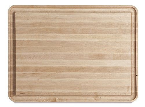 J.K. Adams Vermonter Carving Board, 24'' x 16'' x 11/2'', Maple by J.K. Adams