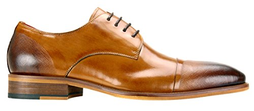 Dress SL0005 Shoes Shoes Land Men's Tan Leather Steven dwSnTHxfzq