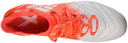 adidas Damen X 16.1 Fg Leather W Fußball-Trainingsschuhe Mehrfarbig (ftwr White/ftwr White/solar Red)