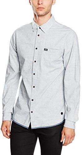BLEND 20701371 Camisa, Gris (Granite), L para Hombre: Amazon.es: Ropa y accesorios