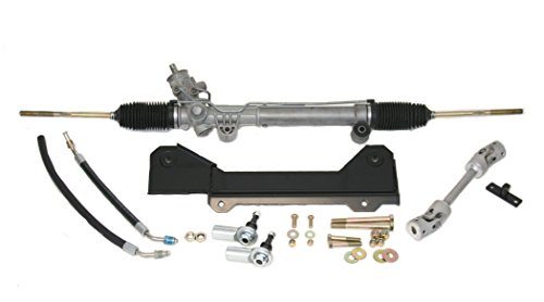 SpeedDirect 83001 Steeroids Rack & Pinion Conversion Kit for Camaro/Firebird & Chevy II/Nova Power Steering