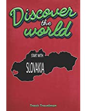 Discover The World Start With Slovakia:   30 Page Journal   Planner   Trip Planner   Red Cover