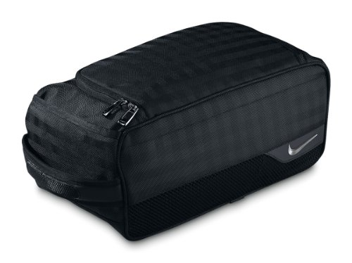Nike Departure Shoe Tote (Black/Silver), Outdoor Stuffs