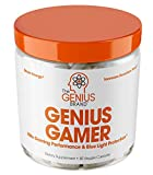 Genius Gamer - Elite Gaming Nootropic | Focus & Brain Booster Supplement - Boost Mental Clarity,...