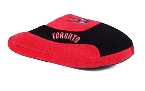 Happy Feet Och Bekväma Fötter Mens Och Womens Officiellt Licensierade Nba Låga Pro Tofflor Toronto Raptors