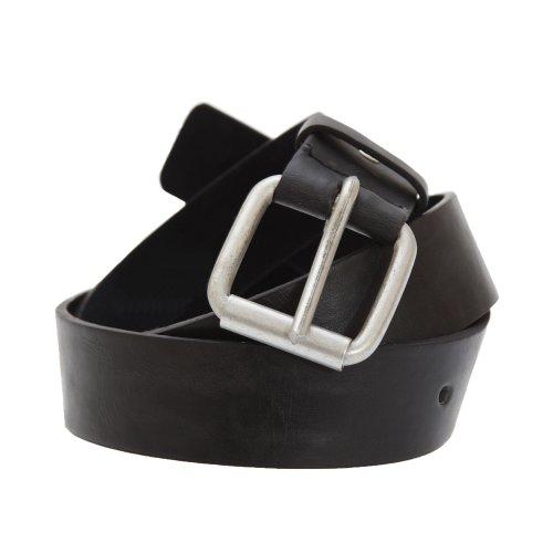 "Forest Belts Mens 1.5 Inch Bonded Leather Classic Belt (Medium (32""-36"")) (Athletic Classic Belt)"