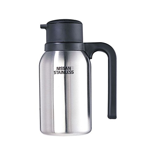 Thermos S/S 20 Oz Vacuum Creamer Carafe with Twist and Pour Lid