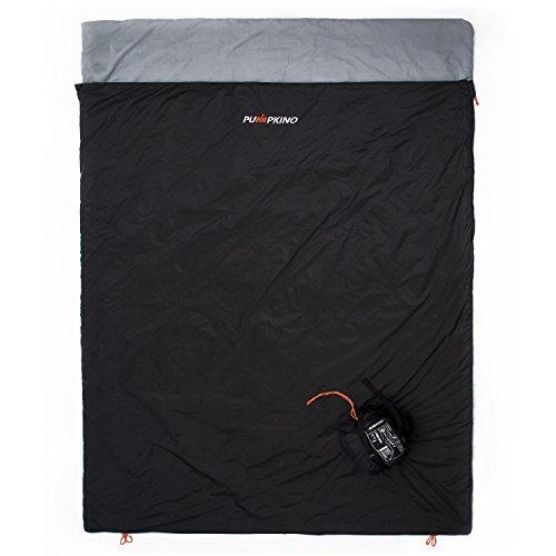 Pumpkino Sleeping Bag - Lightweight Sleeping Bag for Adults Features in Ultralight
