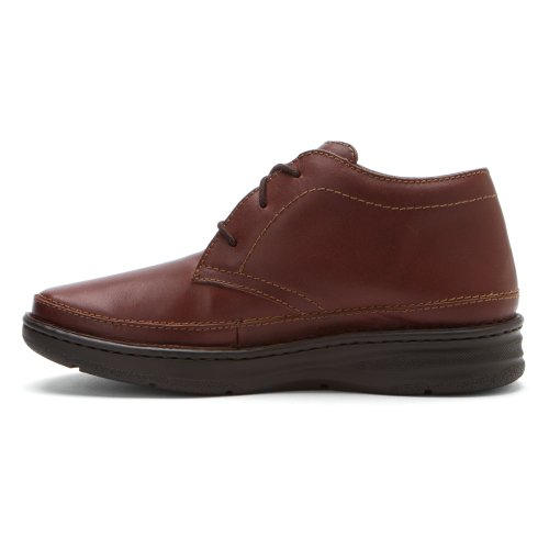 Dessiné Chaussure Hommes Keith Cheville Bottes Brandy