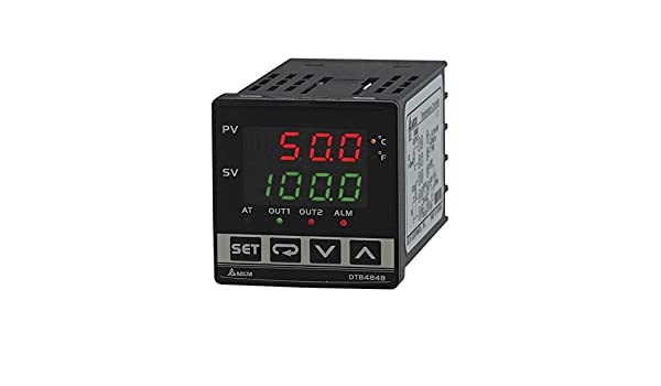 Delta DTB4848RR Delta Temperature Controller DTB series Advanced type Panel size 4848 relay output /& relay output