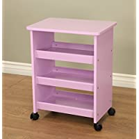 Frenchi Home Furnishing All Purpose Rolling Table, Purple