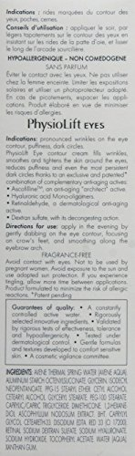 Eau Thermale Avène Physiolift Eyes Wrinkles, Puffiness, Dark Circles Cream, 0.5 fl. oz. by Eau Thermale Avène (Image #4)