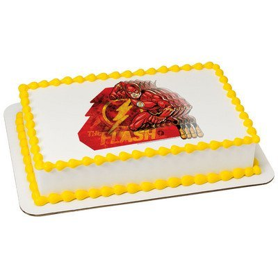 The Flash Licensed Edible Cake Topper #7438 -