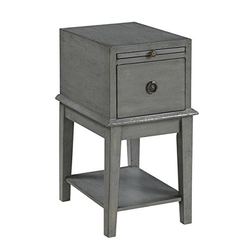 Side Table / End Tables Distressed One Drawer Chairside Chest / Accent Table - 14 in Wide x 19 in Deep x 26 in ()