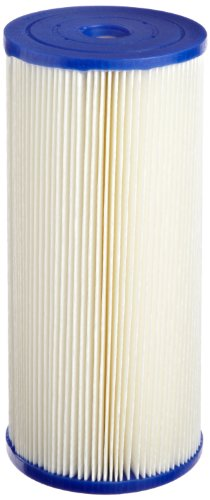 Pentek ECP20-BB Pleated Cellulose Polyester Filter Cartridge, 9-3/4