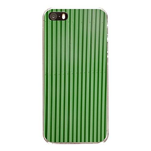 """Disagu Design Case Coque pour Apple iPhone SE Housse etui coque pochette """"Blechoptik Grün"""""""