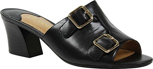 J.Renee Womens Maribeth Slide Sandal Black SEcYO6iUrA