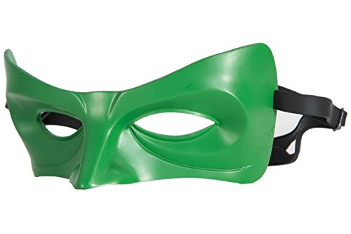 XCOSER Lantern Green Eye Mask Costume Props for Halloween Masquerade Party Resin -