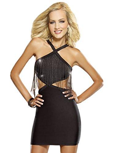 UPC 888368235568, Dreamgirl Women's Crime Of Passion Club Dress Black Large