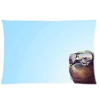Nymeria 19 Sloth Astronaut Rectangle Pillowcase Pillow Case Covers 20X30 (One Side) Ga-413 - Nymeria 19