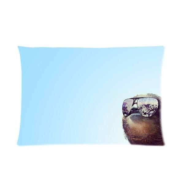 Nymeria 19 Sloth Astronaut Rectangle Pillowcase Pillow Case Covers 20X30 (One Side) Ga-413 -