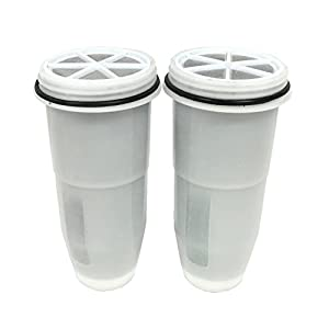 ZeroWater Portable Tumbler/Travel Bottle Replacement Filter, 2-Pack - ZR-230