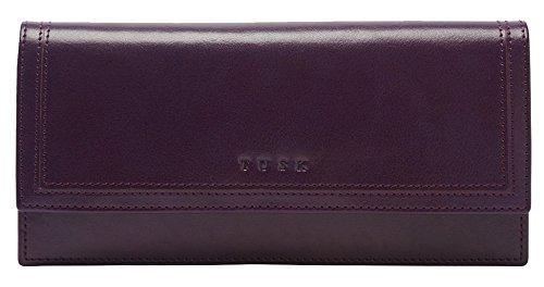 Tusk Kent Gusseted Clutch Wallet SK434 (Purple) by TUSK