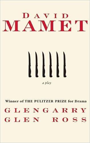 Glengarry Glen Ross Script Pdf