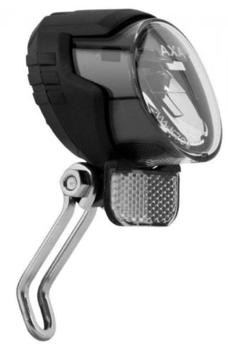 Axa 939851 Luxx 70 Steady - Faro LED para bicicleta, color negro: Amazon.es: Deportes y aire libre