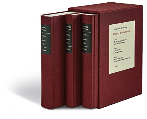 Schriften zur Literatur Gesamtwerk PDF
