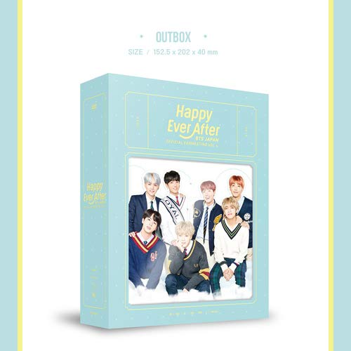 BTS JAPAN OFFICIAL FANMEETING VOL 4 [Happy Ever After] (첫 한정 생산・해외 제조 상품)[DVD]