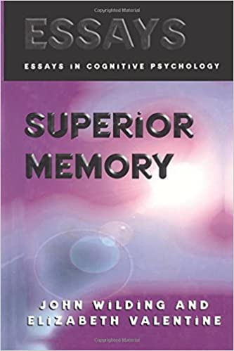 com superior memory essays in cognitive psychology  superior memory essays in cognitive psychology 1st edition