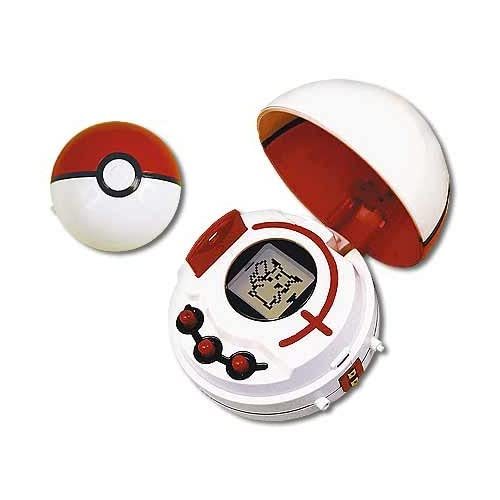 com: Pokemon LCD Cyber Poke Ball with 100 Pokemon and Bonus Data Card