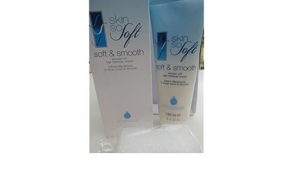 Avon Skin So Soft Soft & Smooth ducha de luz pulsada Crema con humedad complejo 125 ml: Amazon.es: Salud y cuidado personal