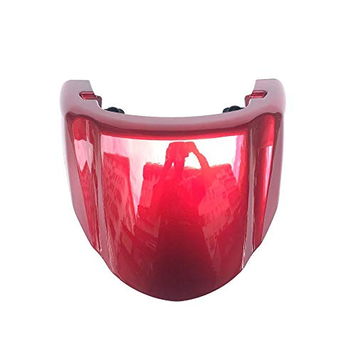 Motorcycle Seat Cover Cowl Racing Red Seat Cover for Suzuki Boulevard M109R 2006-2019 VZR 1800 05-06 Intruder 2006-2019 ()