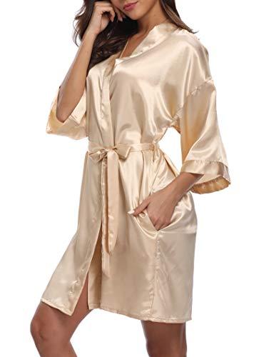 iFigure Women's Short Kimono Rob...