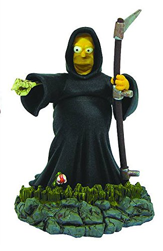 Simpsons Treehouse of Horror Bust-Ups Series 4: Angel of Death Homer