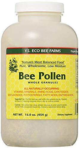 Y.S. Eco Bee Farms, Bee Pollen, Whole Granules, 3 Pack (16.0 oz (453 g))