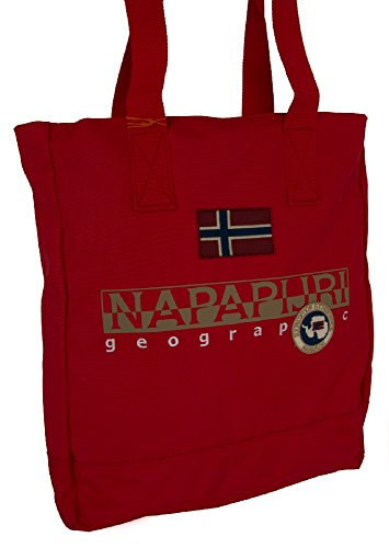 Napapijri North Cape Tote Ii Sac 42 Cm Rouge
