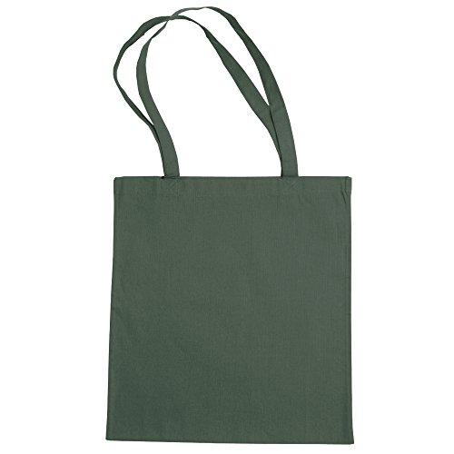 Bolsa Mano La Grande By Bags 2 Algodón paquete De Compra Verde Militar de Jassz IqxEFwF4a
