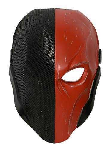 Deathstroke Mask Updated Adult Halloween Cosplay Costume Helmet Accessory O -